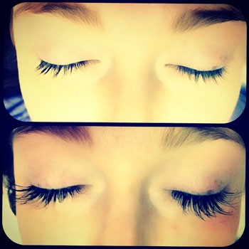 Eyelash extensions canyon falls spa and salon las vegas hair eyelashes are made thicker and longer through professional application of an individual synthetic or mink eyelash directly attached to the natural eyelash pmusecretfo Gallery