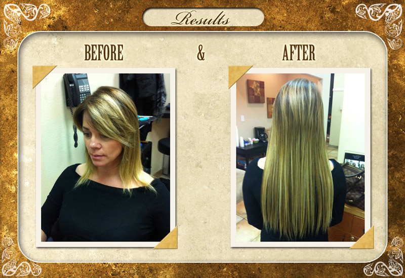 Canyon falls day spa scottsdale hair extensions services before and after pmusecretfo Gallery